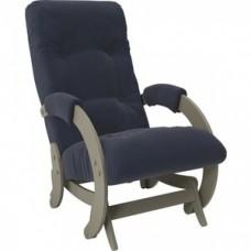Кресло-качалка Импэкс Модель 68 серый ясень ткань Verona denim blue