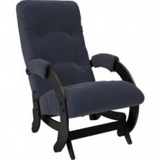 Кресло-качалка Импэкс Модель 68 венге ткань Verona denim blue