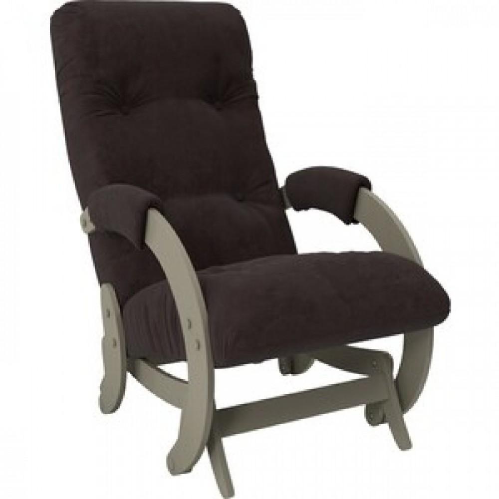 Кресло-качалка Импэкс Модель 68 серый ясень ткань Verona wenge
