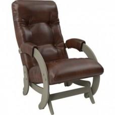Кресло-качалка Импэкс Модель 68 серый ясень к/з antik crocodile