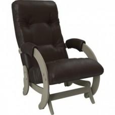 Кресло-качалка Импэкс Модель 68 серый ясень к/з dundi 108