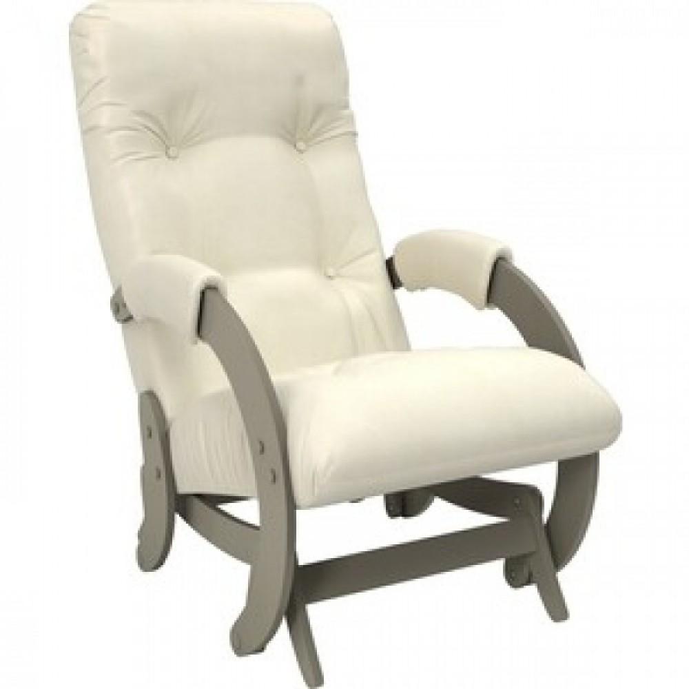Кресло-качалка Импэкс Модель 68 серый ясень к/з dundi 112