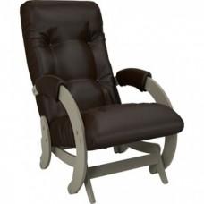 Кресло-качалка Импэкс Модель 68 серый ясень к/з oregon perlamutr 120