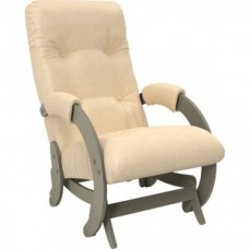 Кресло-качалка Импэкс Модель 68 серый ясень к/з polaris beige