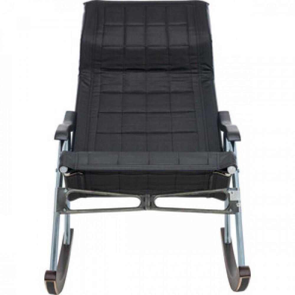 Кресло-качалка складная Мебель Импэкс Белтех к/з черный