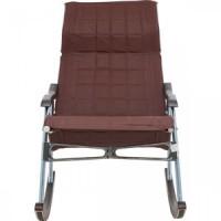 Кресло-качалка складная Мебель Импэкс Белтех к/з коричневый