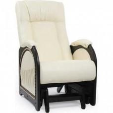 Кресло-качалка Импэкс Модель 48 каркас венге с лозой, обивка Dundi 112