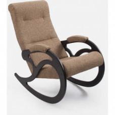 Кресло-качалка Импэкс модель 5 венге, каркас венге,обивка Malta 03А