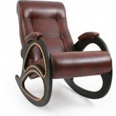 Кресло-качалка Импэкс Модель 4 каркас венге с лозой,Антик крокодил