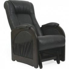 Кресло глайдер Импэкс Модель 48 венге без лозы, обивка Dundi 109