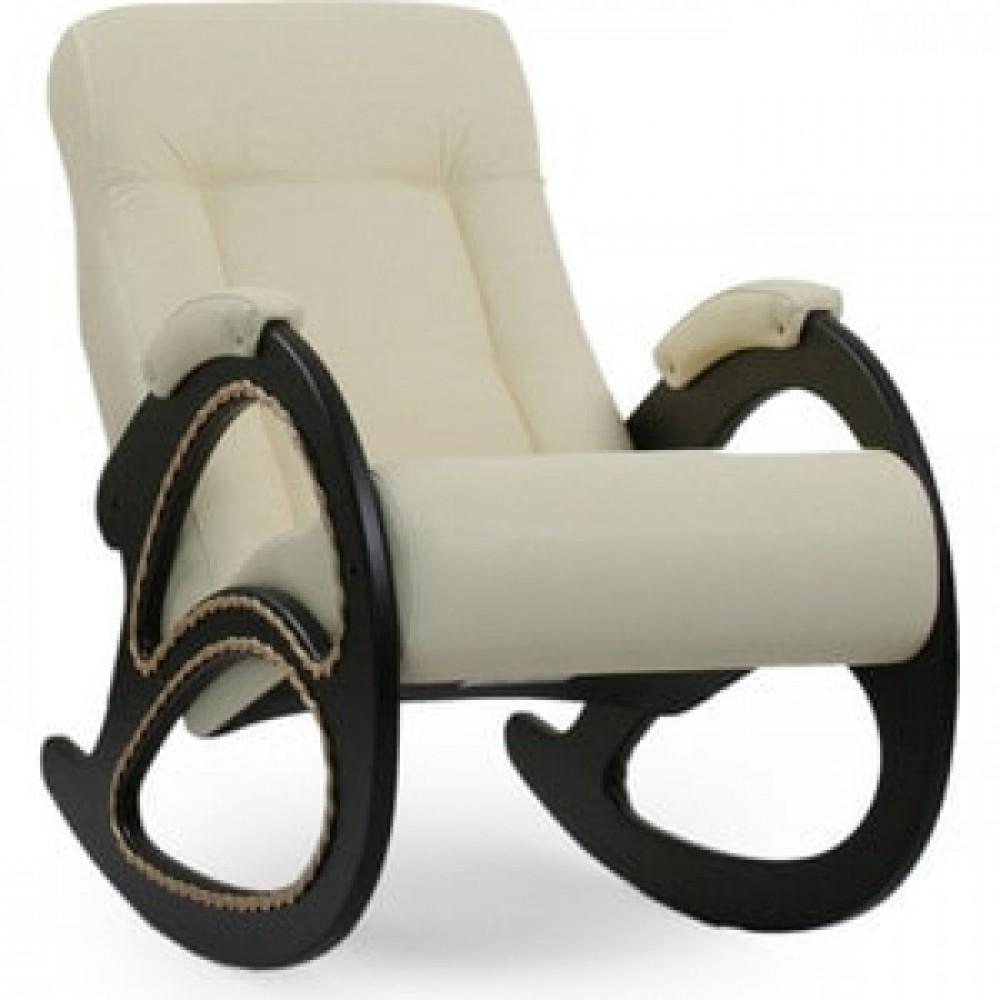 Кресло-качалка Импэкс Модель 4 венге, обивка Dundi 112