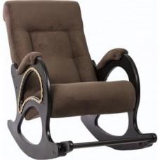 Кресло-качалка Импэкс Модель 44 венге, обивка Verona Brown