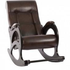 Кресло-качалка Импэкс Модель 44 б/л венге, обивка Antik crocodile