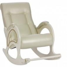 Кресло-качалка Импэкс Модель 44 дуб шампань, обивка Oregon perlamutr 106