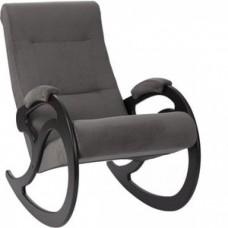 Кресло-качалка Импэкс Модель 5 венге, обивка Verona Antazite Grey