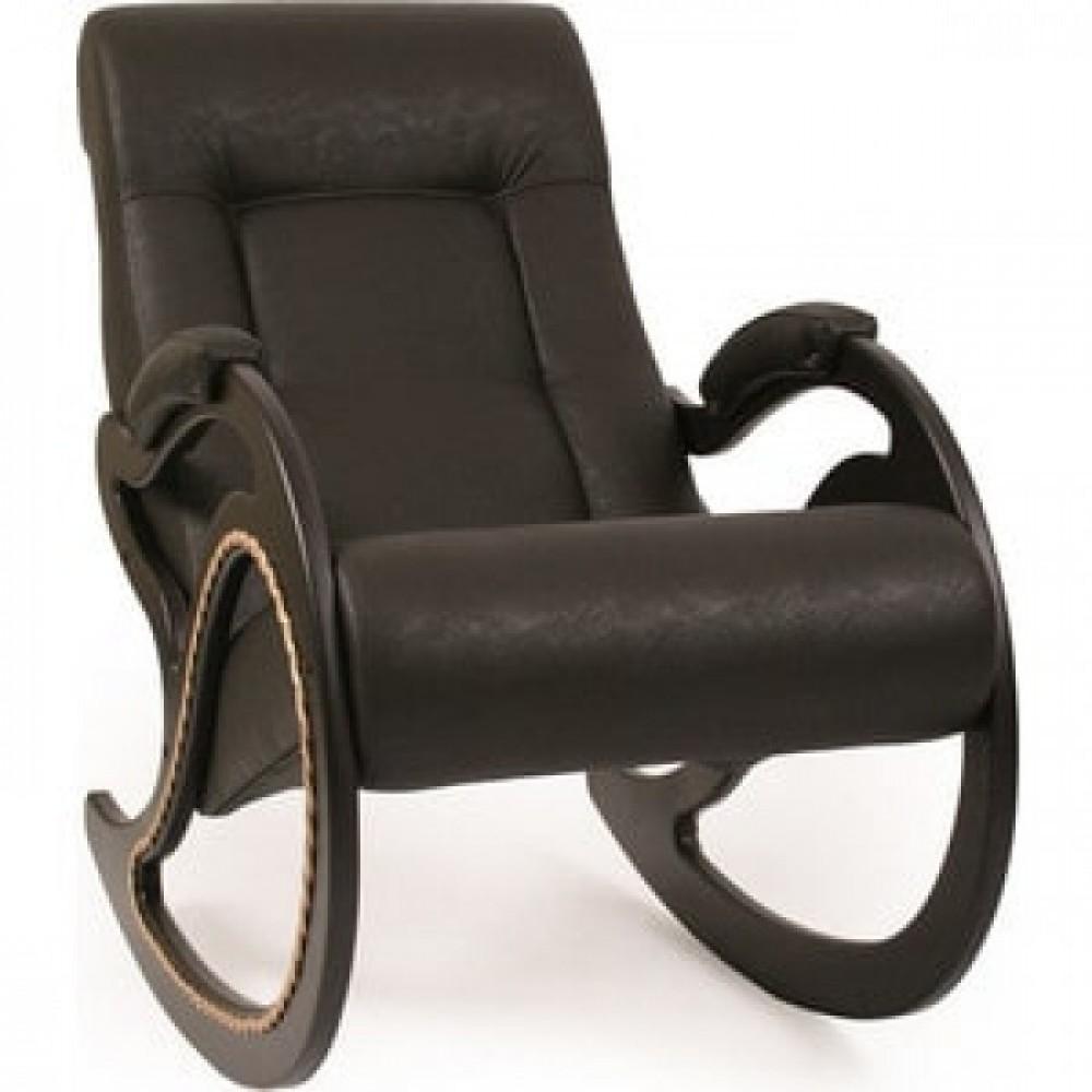 Кресло-качалка Импэкс Модель 7 венге, обивка Dundi 108