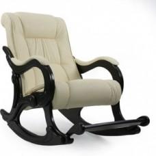 Кресло-качалка Импэкс Модель 77 венге, обивка Polaris Beige