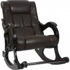 Кресло-качалка Импэкс Модель 77 венге, обивка Vegas lite amber