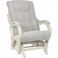 Кресло-качалка Импэкс Модель 78 дуб шампань, обивка Verona Light Grey