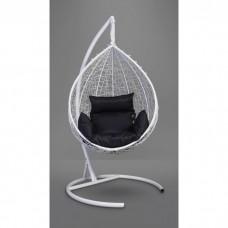 Подвесное кресло-кокон Sevilla белый/черный