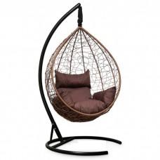 Подвесное кресло-кокон Sevilla горячий шоколад/коричневый