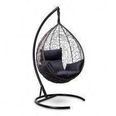 Подвесное кресло-кокон Sevilla коричневый/черный