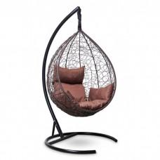 Подвесное кресло-кокон Sevilla коричневый/коричневый