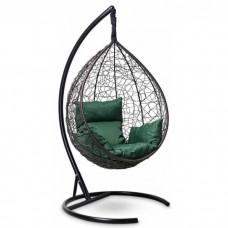 Подвесное кресло-кокон Sevilla коричневый/зеленый