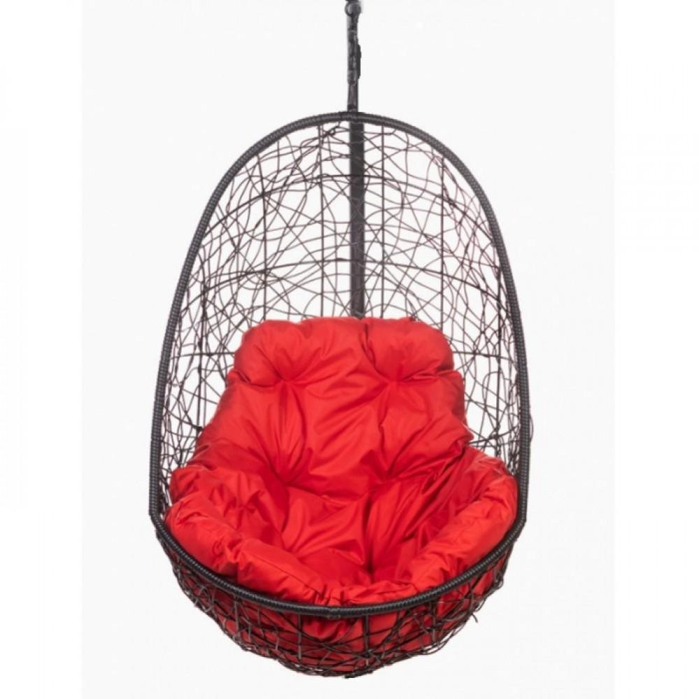 Подвесное кресло BiGarden Easy BS без стойки (красная подушка)