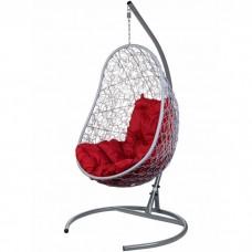 Подвесное кресло BiGarden Easy Gray (красная подушка)