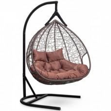 Подвесное кресло-кокон Laura Outdoor Fisht коричневый/коричневый