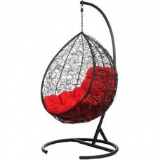 Подвесное кресло BiGarden Tropica Black (красная подушка)